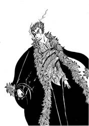 Laxus BnW by MatiMS