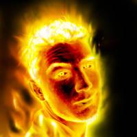 Fiery boy by 21october