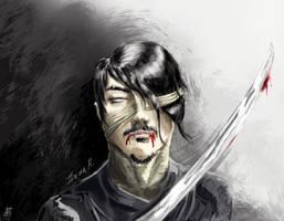 Zombie Ninja by 21october