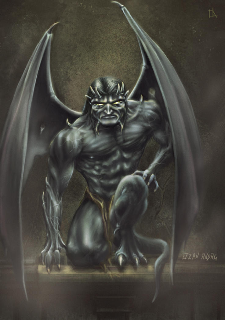 The Gargoyle-Goliaht by 21october
