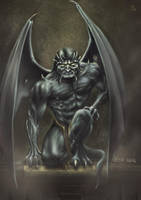 The Gargoyle-Goliaht by 21october