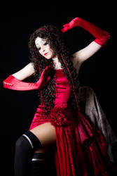 Oluha Red dress by NikitaCosplay