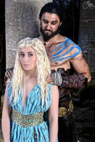 Khal and Khaleesi by NikitaCosplay