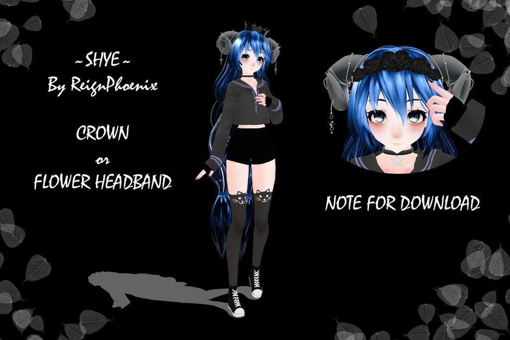 MMD Model 'Shye' (DOWNLOAD- Note Only) by ReignPhoenix