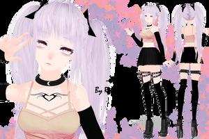 MMD Model 'Mira' by ReignPhoenix