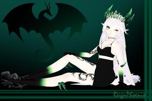 MMD Model- Dragon Lady 'Zara' by ReignPhoenix