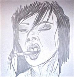 Cigarette by CaroleNeverland