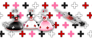 MMD Bloody nurse dress + inyection DOWNLOAD DL by HoshichoM