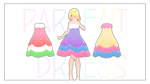MMD Download : Parfait Dress DL by HoshichoM