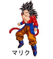 Ascended SSJ4 Goku by MalikStudios