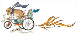 kancil on bike by junfei176