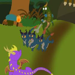 Release The Dragon Dogs! by ZiraDreamTraveler