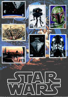 Topps Star Wars Galaxy 6 Ad by AstroVisionary