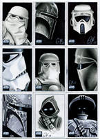 Topps Star Wars Galaxy Pt II by AstroVisionary