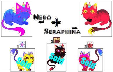 NeroXSeraphina Unicat batch 1 - Closed by 00QuothTheRaven00