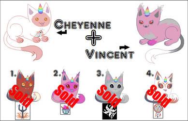VincentXCheyenne Unicat batch 2 -Closed by 00QuothTheRaven00