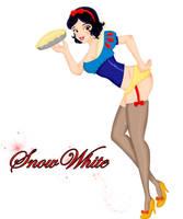 Disney Pin Ups - Snow White by vika8D