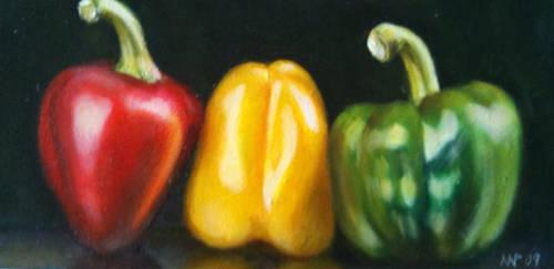 Three Peppers by nicolepellegrini
