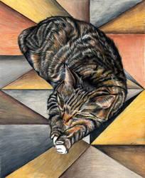 Felinus Geometrica by nicolepellegrini
