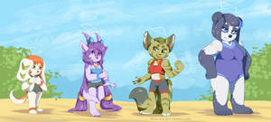 Freedom Planet: Get In Shapes! by Flora-Tea