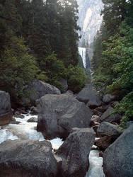 Yosemite - Hike to Halfdome 1 by composmentis