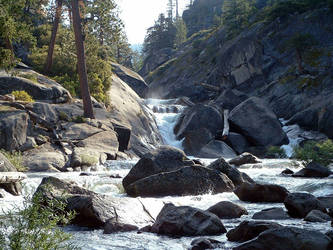 Yosemite - Hike to Halfdome 2 by composmentis