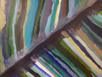 A study in Blue-Folded Lines by Castiel-Abhorsen