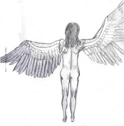 Angel by Castiel-Abhorsen