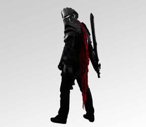 Selfshot Armored Poses by Terminadi