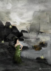 The Siren by beanhugger