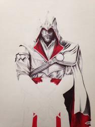 Ezio WIP by Jamin95