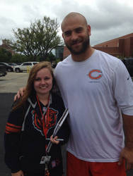 Me and Kyle Long by Jamin95