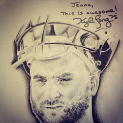 Kyle Long Signed by Jamin95