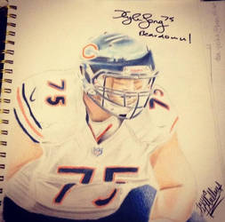 Kyle Long Signed 2 by Jamin95