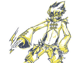 POKEPERSON: LUXRAY by spartancollision