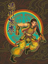 BASARA - Ieyasu by spartancollision