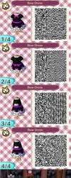Bow Dress QR Code by blackdemondragon13