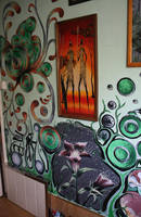 Paintings On Wall 1 by Kokoro-Architecture