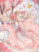 Dance of Spring by Miss-Etoile