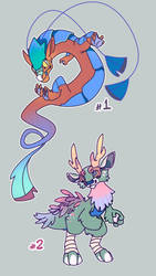 Auction! fantasy creatures(2open) apont#172 by Energony