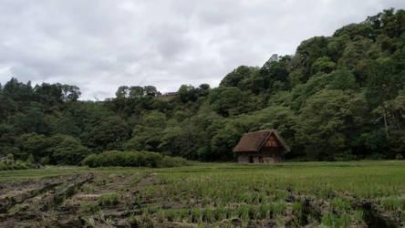 a shirakawago house by xuae
