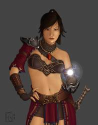 Diablo: Wizard 2 in color by fgesn