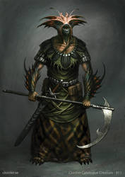 Ferrenai - creature concept by Cloister