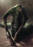 Nemunn - creature concept by Cloister