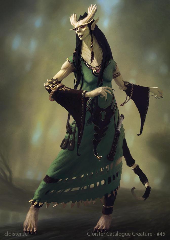 Darwandir - creature concept by Cloister