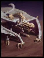 Bone Monger - creature art by Cloister