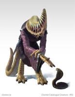 Ne-Nundar - creature concept by Cloister