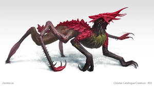 Thar-Naccandor - creature concept by Cloister