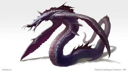 Dronhedon - creature concept by Cloister
