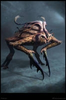 ConLaih Creature Concept - Poster by Cloister